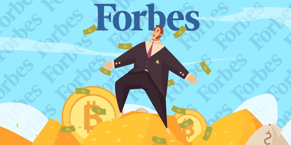 Forbes List 2021: Crypto Billionaires Show Bullish Presence