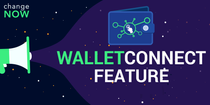 WalletConnect Feature Available for ChangeNOW Mobile App